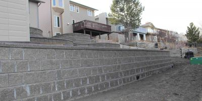Edgemont-Retaining walls
