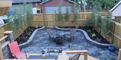 Bankview-Back Yard Remodelling